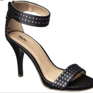 Mossimo Studded Ankle Strap Heels